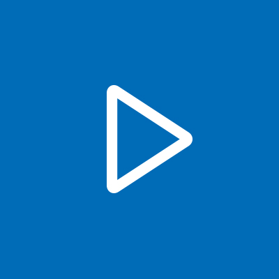 Blue Video Placeholder